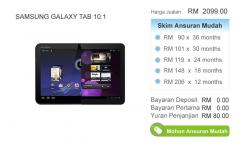 Samsung Galaxy TAB 10.1 Tablet PC