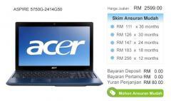 Acer Notebook ASPIRE 5750G-2414G50