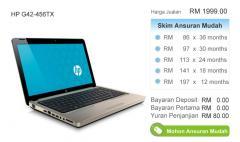 HP Notebook G42-456TX