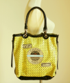 Barbara Rihl 2 Zipper Caviar Bag