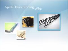 Spiral Twin Binding Wire