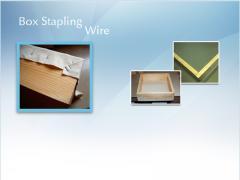 Box Stapling Wire