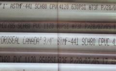 PVC/CPVC Schedule 80 Pipe