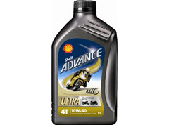 Shell Advance Ultra 4T (10W-40)