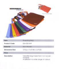 Shopping Bag / Non-woven / Maroon, Orange, White, Purple, Green,