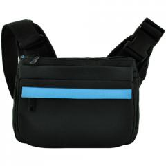 Bag. Waist Pouch. S03-017CON-01-Black