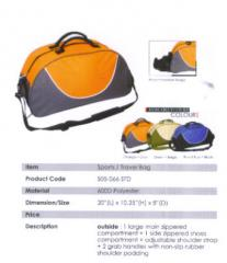 Travel Bag / Polyester / Orange, Green, Royal Blue