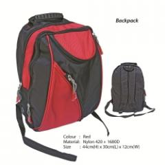 Backpack BB 1623 Red, Black