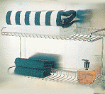 Bathroom Double Deck Rack SHT-103