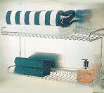 Bathroom Double Deck Rack SHT-103
