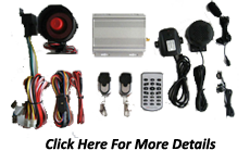 GSM GPRS car alarm