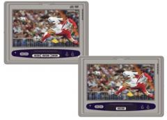 Headrest DVD monitor