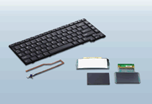 Keyboards for notebook