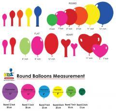 Round / Flat / Heartshape Balloons