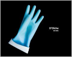 Nylon Seamless Supported Liner With Natural Latex Full Dipped Glove