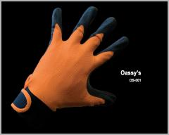 Polynylon With Natural Latex Palm Coated Glove