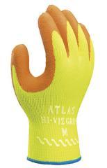 Atlas Hi–Viz Grip Gloves