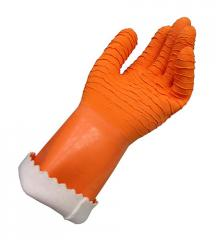 Heavy Crinkle Surface Texture Gloves