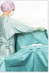 Bariatric surgery drapes