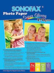Photo Paper, Super Glossy