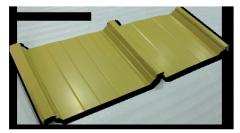 Metal Roofing - YK 720 Clip Deck