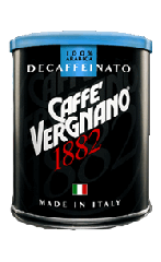 Coffee, Vergnano Decaffeinato