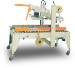 Semi Automatic Flaps Folding And Side Belts Driven Sealer