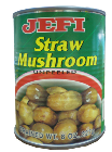 Jefi Straw Mushrooms (Unpeeled)