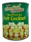 Canned Fruits and Vegetables  Jefi Tropical Fruit Cocktail In Syrup