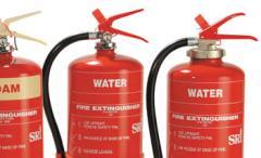 Water & Foam Type Fire Extinguisher, BS
