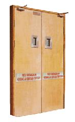 Double Leaf Flush Fire Resistant Doorset