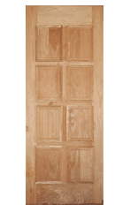 Solid Timber Decorative Fire Resistant Door-set
