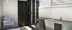 Concept Plain Charcoal Tile