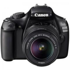 Canon EOS 1100D (Black) Digital SLR Camera + EF-S