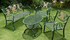 Garden Furniture Set Butterfly