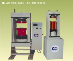 Concrete and Cement Compression Test Machines