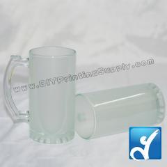 Beer mug (glass) (16oz)