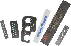 Silkscreen Nameplates & Escutcheons