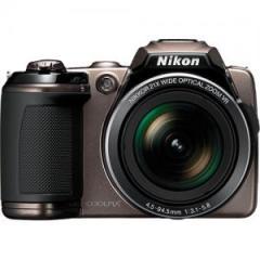 Nikon Coolpix L120 Digital Camera (Brown)