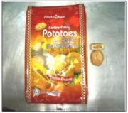 Potato mum Centre filling potatoes (halal)