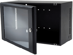 Wall mount rack 9U