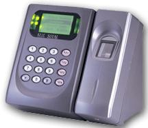 Controller built in lan and biometric reader
