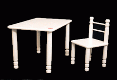 Small Table & Small Chair  TW-ST1 & TW-SC1