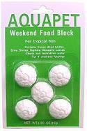 Aquapet Weekend Food Block