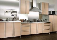 Light beige kitchen