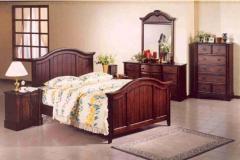 Wooden Base Bed