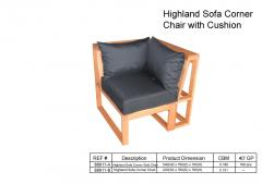 Highland Sofa Corner Chair