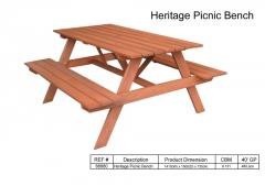 Heritage Picnic Bench