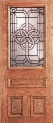 Exterior Door With Glass Insert