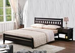 Wooden Base Double Bed